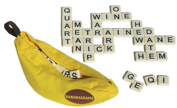bananagrams travel game children
