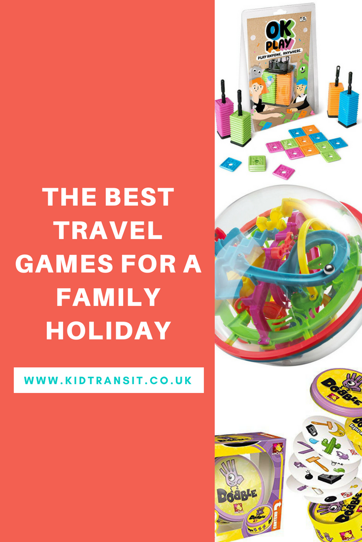 Best travel games for a family holiday, vacation or road trip to entertain your kids