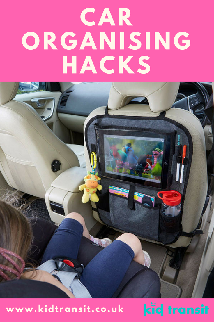 Loads of car organizing hacks and ideas to keep your car tidy