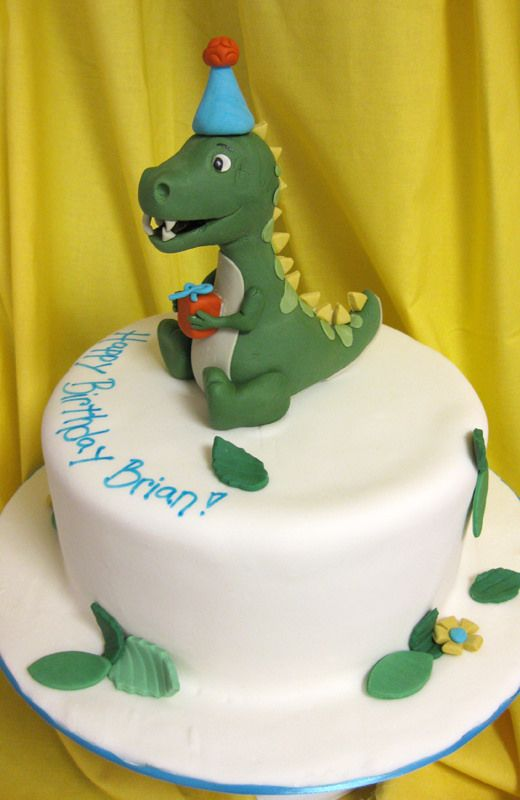 Dinosaur First Birthday Party Favour