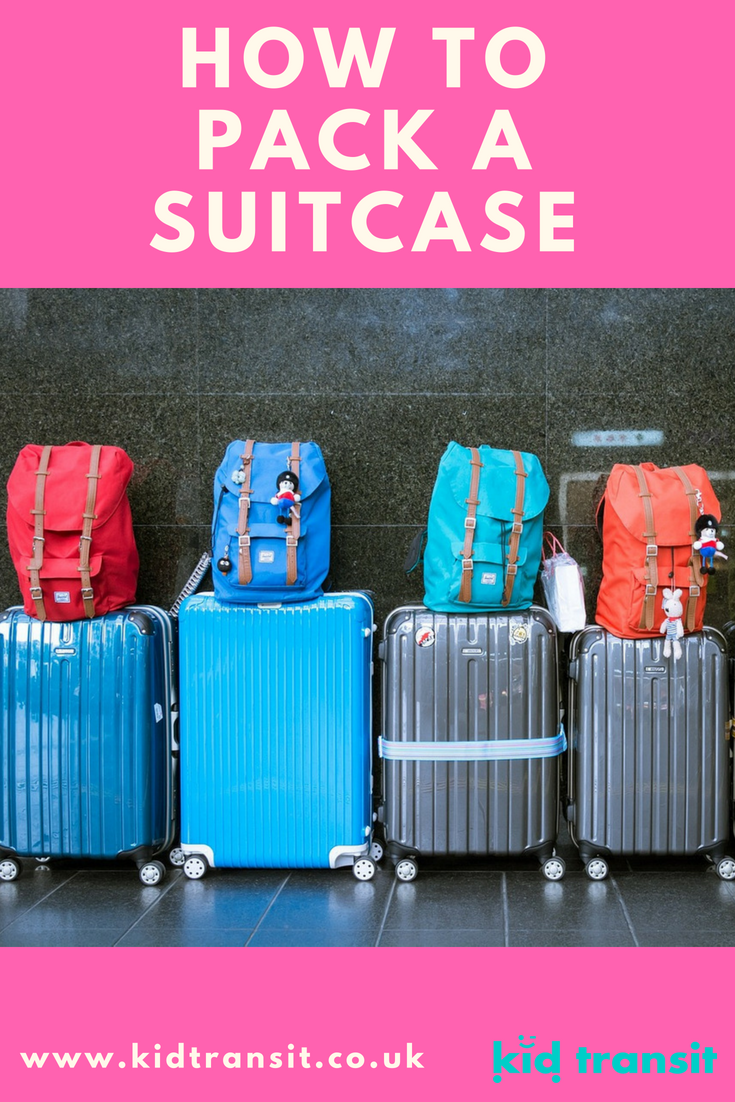 All you needed to know to make packing for a family vacation the easiest chore ever!