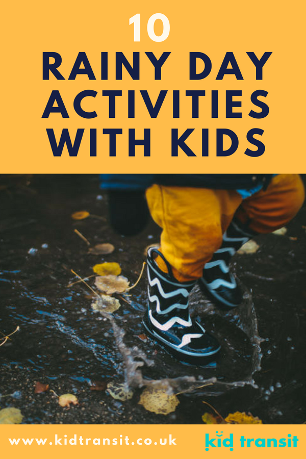 rainy day activities with children