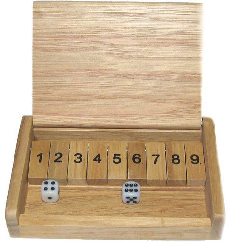 shut the box travel game