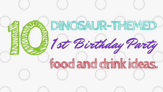 Dinosaur Themed First Birthday Games Ideas