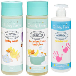 childs farm toiletries