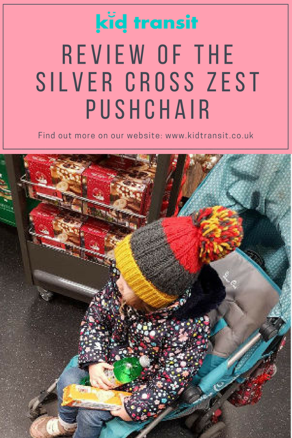 silver cross zest pushchair stroller buggy review