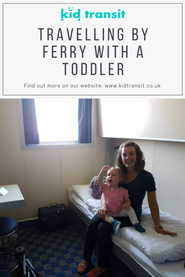travelling on ferry toddler family holiday