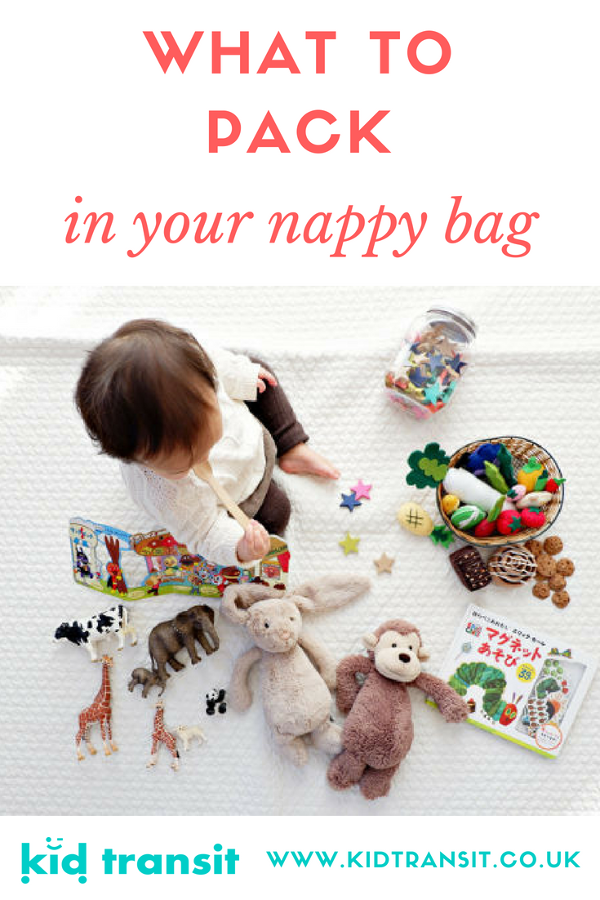what to pack in nappy bag