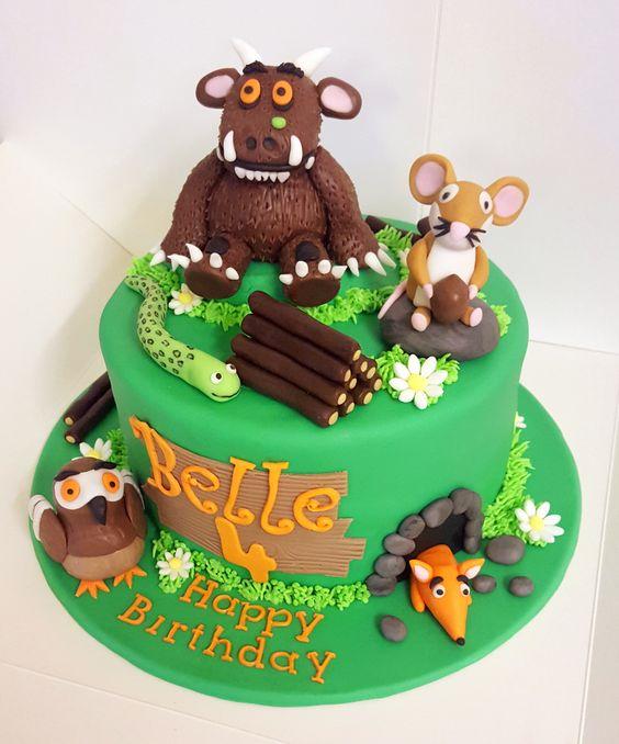Grufallo Themed First Birthday Cakes