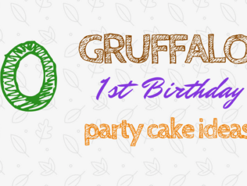 Gruffalo Themed First Birthday Cake Ideas