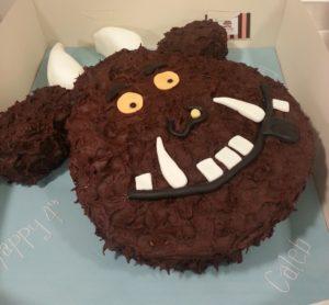 Gruffalo Themed First Birthday Cakes