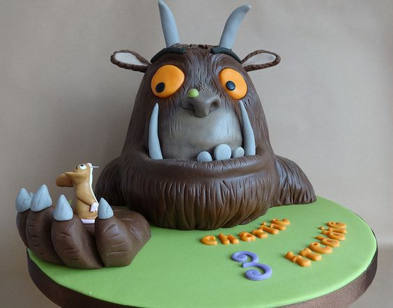 Gruffalo Themed First Birthday Cakes