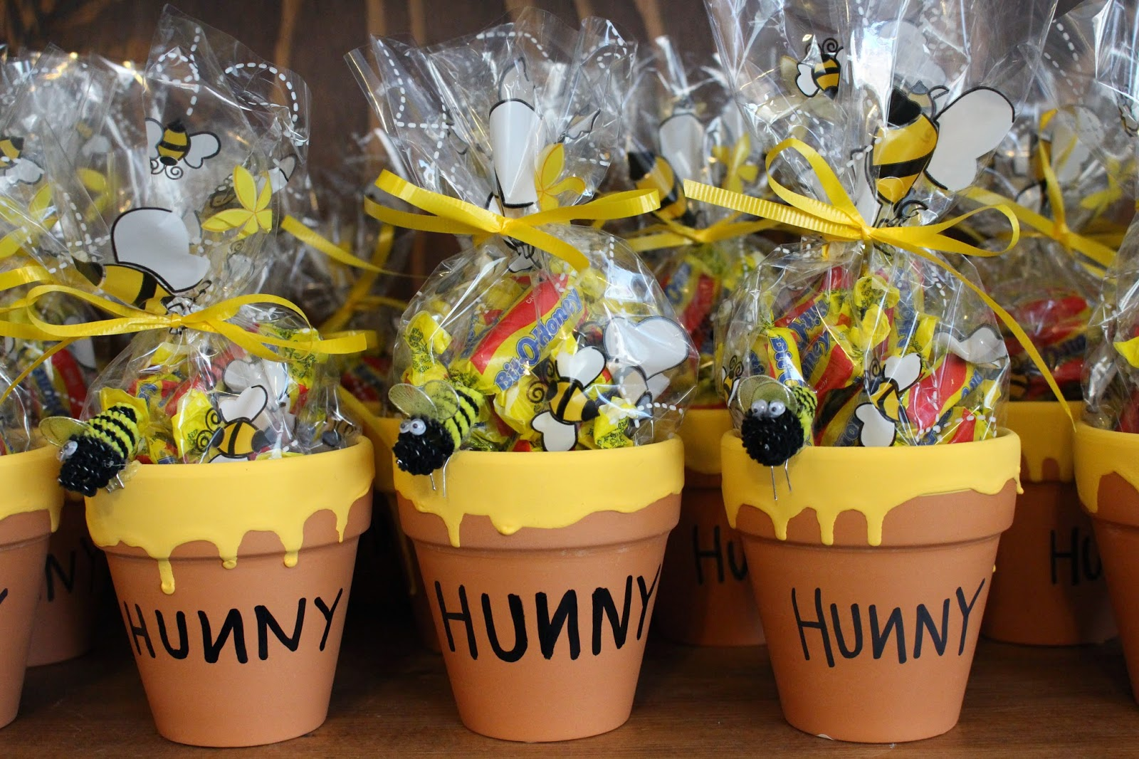 Winnie The Pooh First Birthday Party Favour Ideas Kid