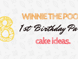 Winnie the Pooh First Birthday Party Cake Ideas