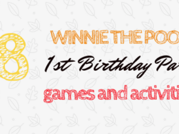 Winnie the Pooh First Birthday Party Games and Activities