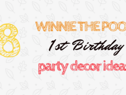Winnie the Pooh First Birthday Party Favour Ideas