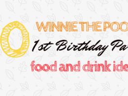 Winnie the Pooh Themed First Birthday Food Ideas