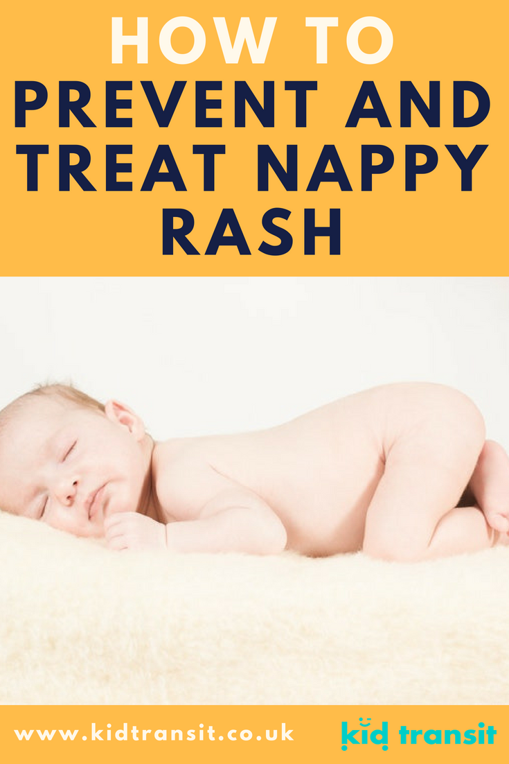How to prevent and treat nappy rash on your baby