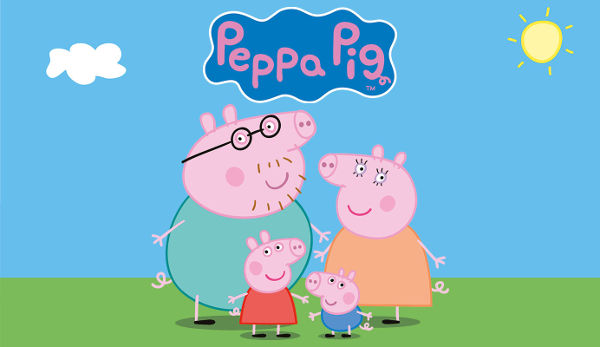 peppa pig screen time children