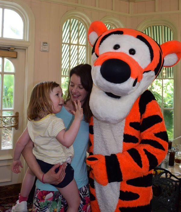 Tigger Disney character dining Magic Kingdom