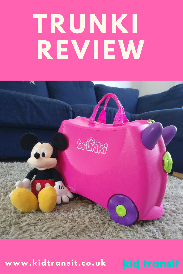 If you're looking for a kid's suitcase, take a read of my Trunki ride-on suitcase review to see whether it's worth the money.