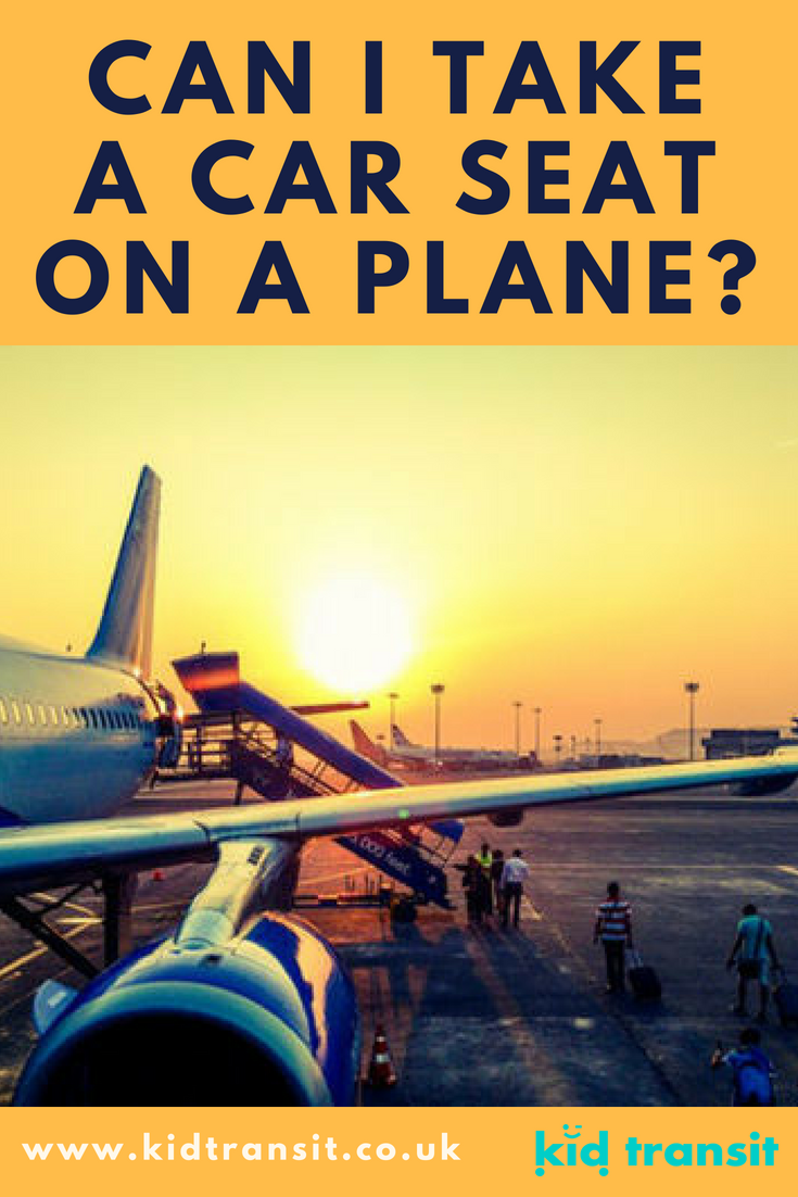 Can I take a car seat on a plane (and do I want to) when flying with my baby?