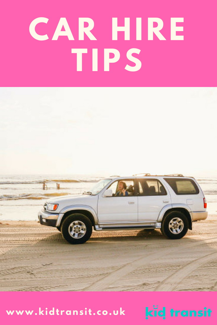 Things to consider when you hire a car for a family vacation