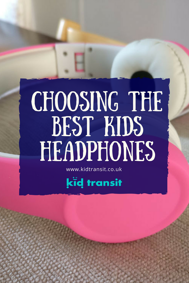 How to choose the best kids headphones that won't damage their ears but will keep them quiet!