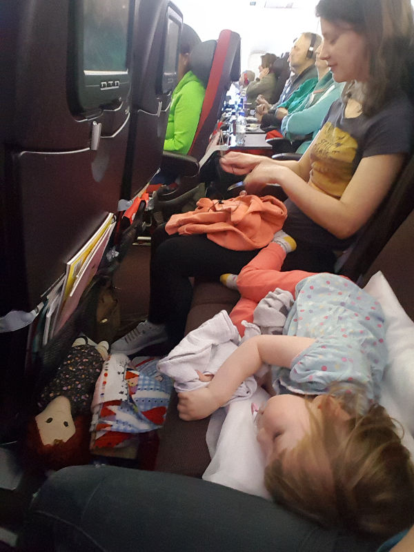 flying toddler plane seat