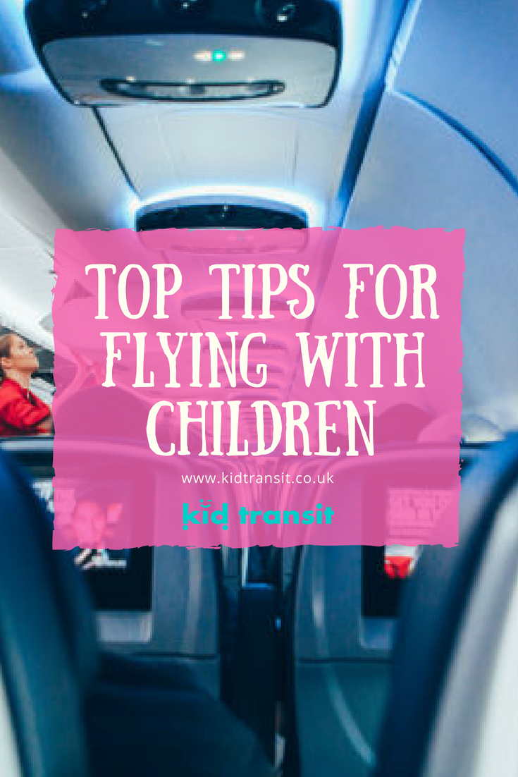 Top tips for flying with children. If you're taking a baby on a plane soon, don't worry. Here's how to do it and stay relaxed.