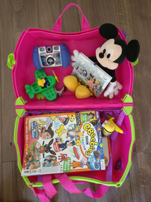 packing trunki ride on suitcase