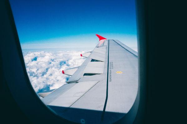 plane window seat flight toddler