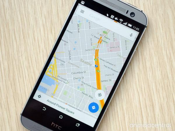 sat nav phone google map flying toddler