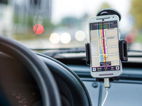 satnav phone car hire family travel