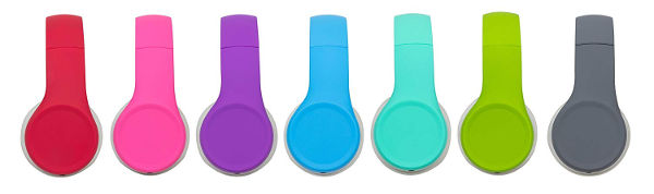 snug play childrens headphones colours