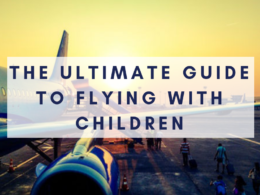 travelling with toddler on a plane