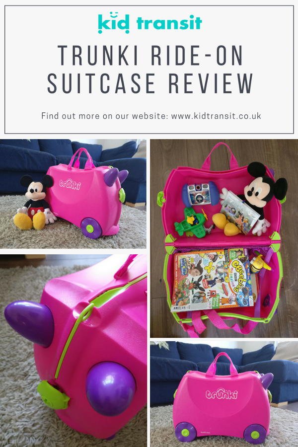 trunki childrens ride on suitcase review