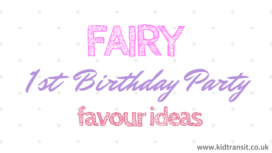 Fairy Themed Birthday Party Food and Drink Ideas