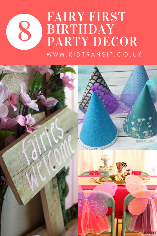 8 fairy decor first birthday party ideas to make your fairy party completely magical. #fariyparty #partydecor #firstbirthday #kidsparty