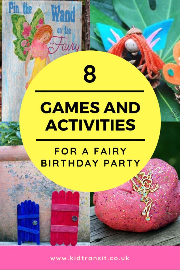 8 fairy party games and activities to play and do at a fairy themed first birthday party. #partygames #fairyparty #firstbirthday #kidsparty