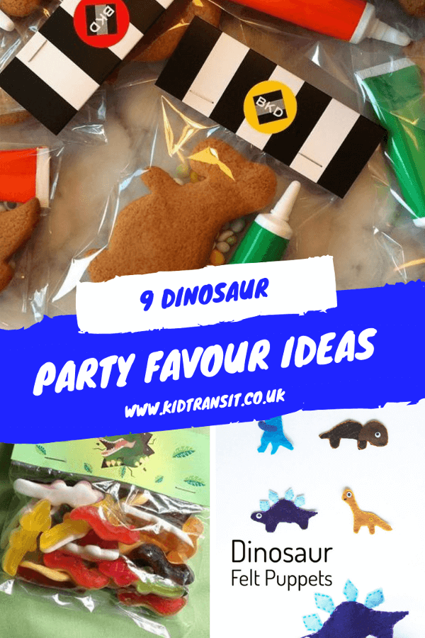 Dinosaur party favour ideas so you can hold the best first birthday party ever!