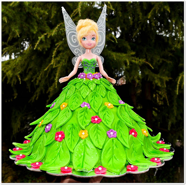 Fairy Themed Birthday Party Cake Ideas