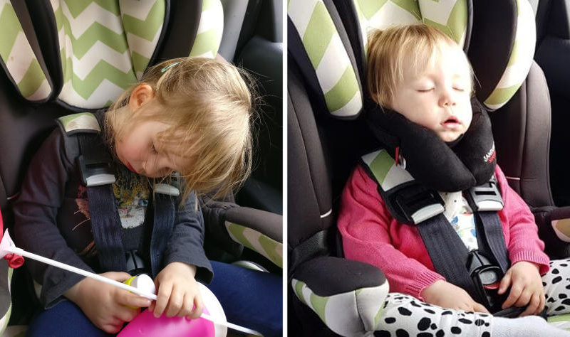 diy car seat head support