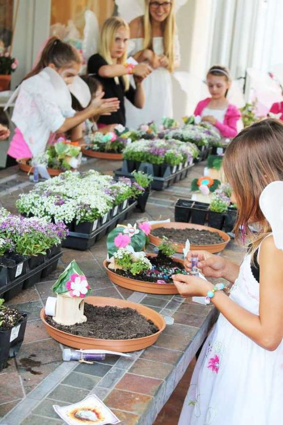 Fairy Party First Birthday Venue How to Make a Fairy Garden
