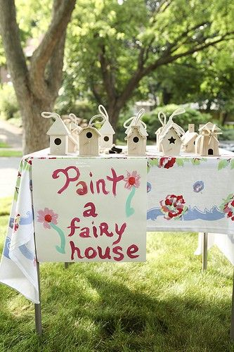 Fairy Theme Birthday First Party Activities