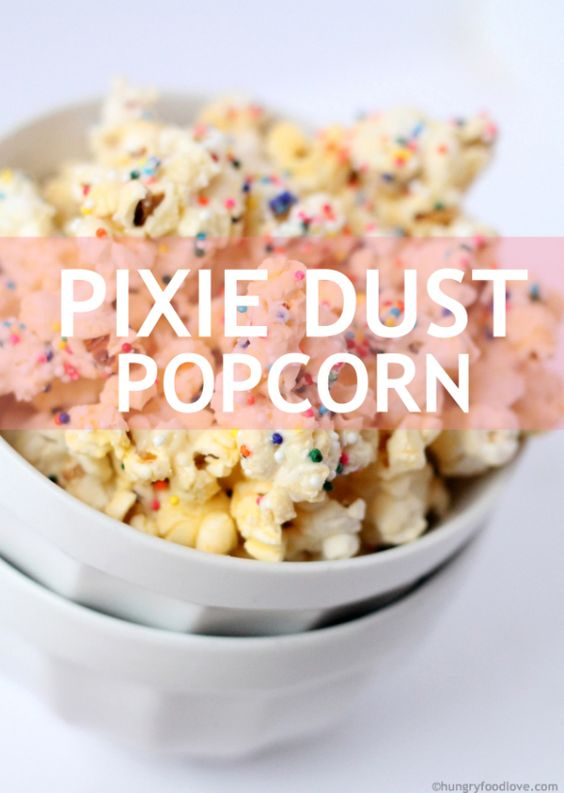 Fairy Themed Party Pixie Dust Popcorn