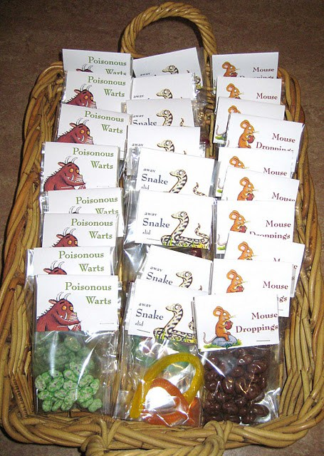 Gruffalo Themed First Birthday Party Favours