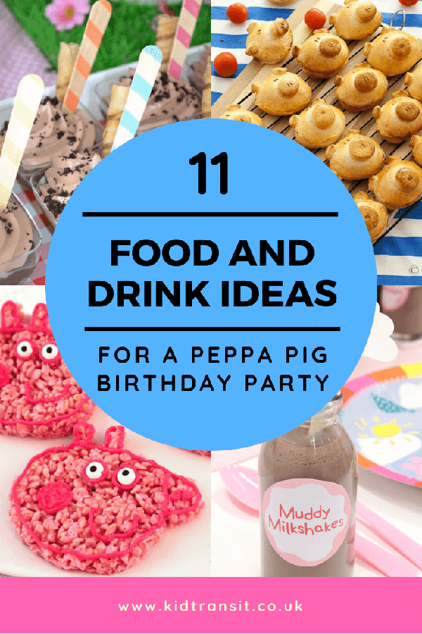11 Peppa Pig theme food and drink ideas for a children's birthday party