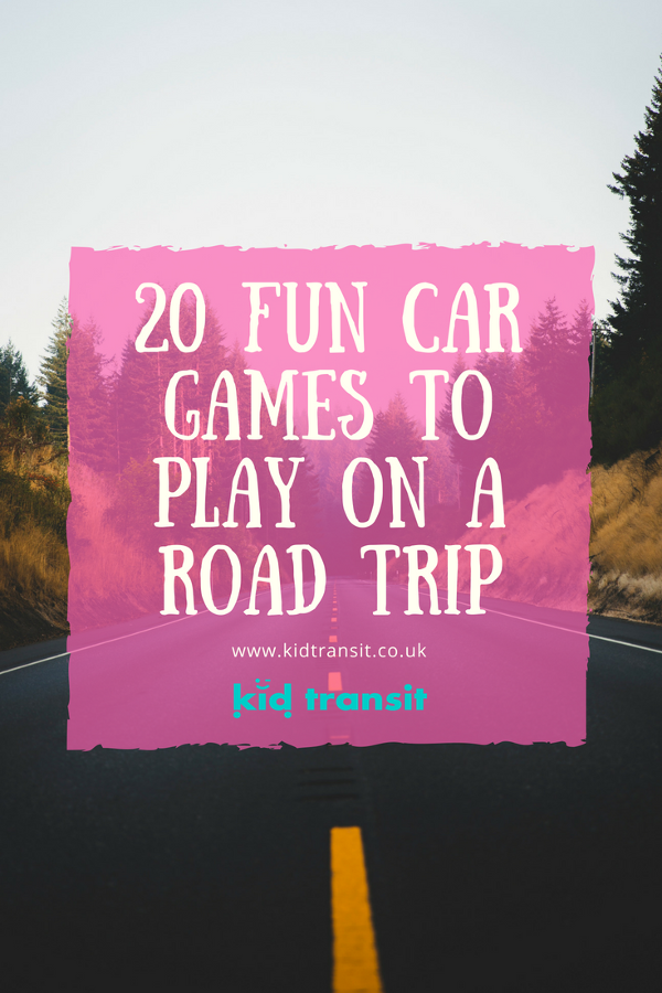 20 fun car games to play with your family on a road trip