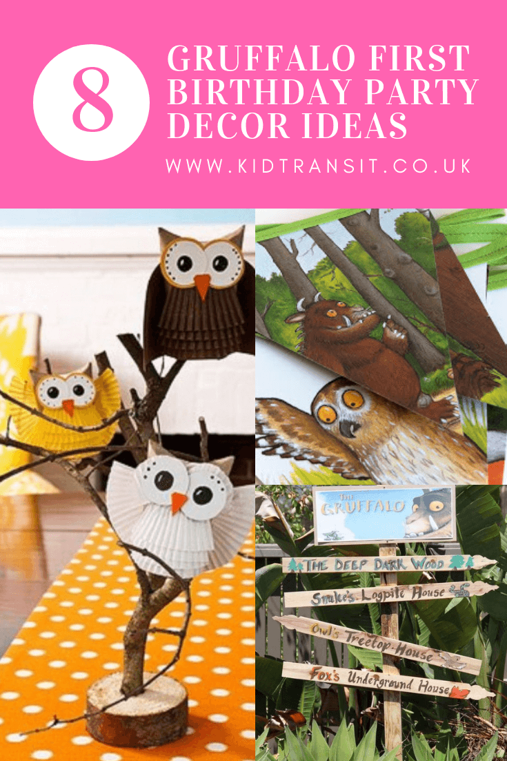 8 Gruffalo Theme Party Decor Ideas For A First Birthday